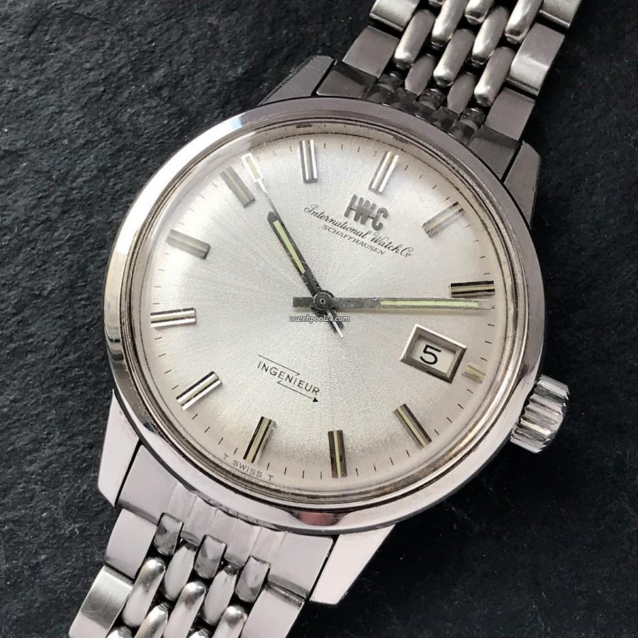 IWC Ingenieur 866 AD - antimagnetische Vintage Uhr von 1969