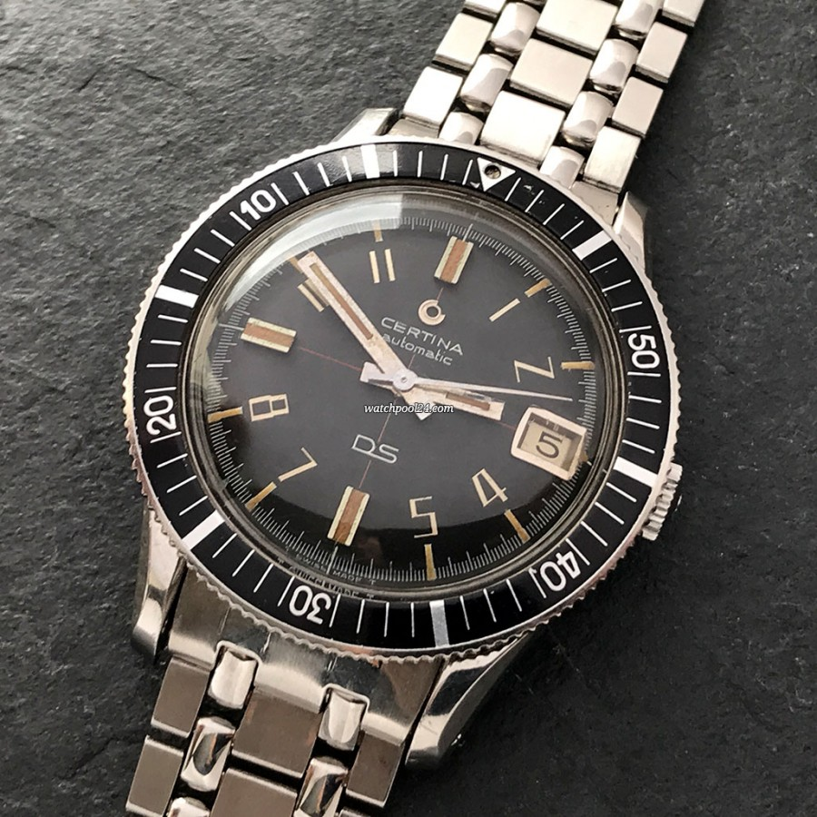 Certina DS 5801-113 - vintage diving watch from 1965