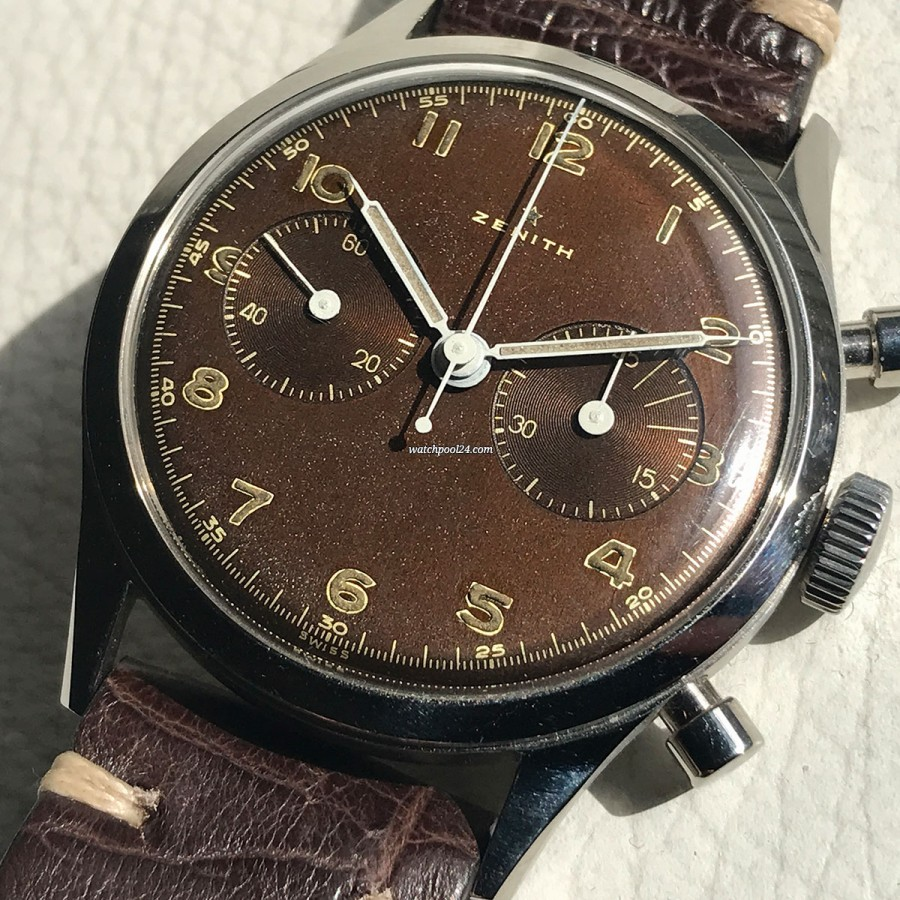 Zenith Chrono Cal. 143-6 Tropical - military chronograph from the 50s