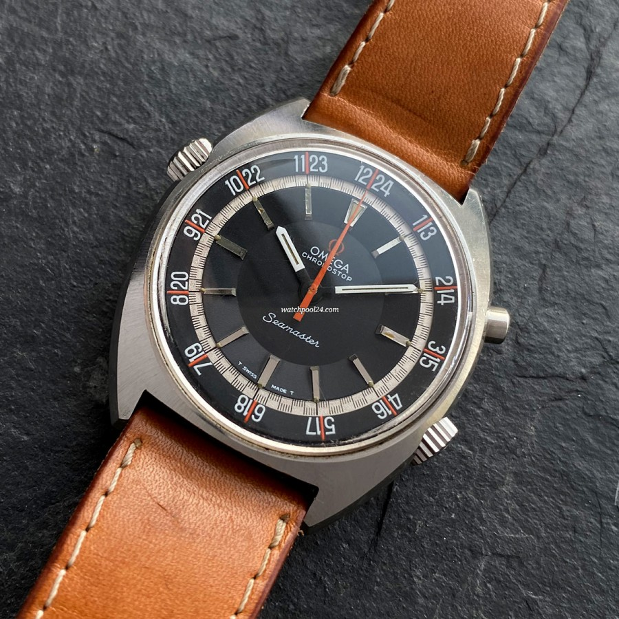 Omega Seamaster 145.008 Chronostop - an unusual chronograph designed for pilots