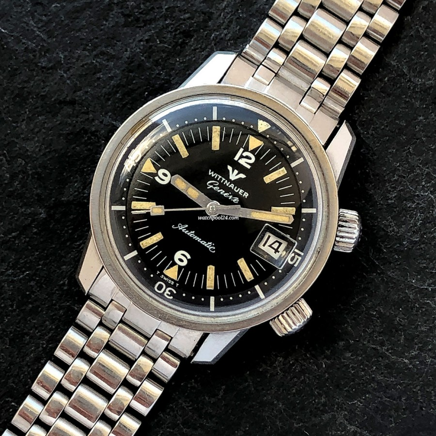 Wittnauer Super Compressor 8007 Diver - a classic vintage diver from 1969