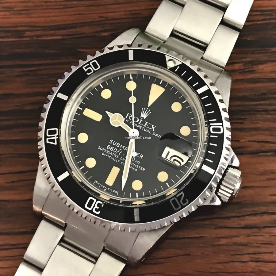 Rolex Submariner 1680 Unpolished - the legendary diving watch Rolex Submariner from 1979