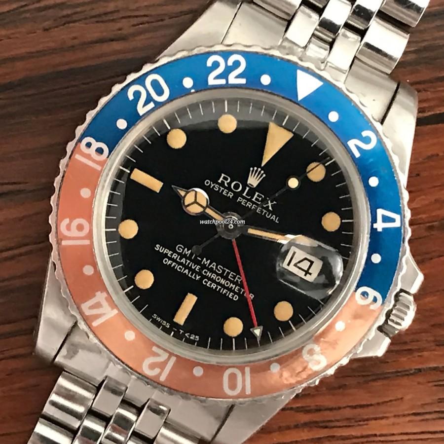 Rolex GMT Master 1675 Gilt - legendäre Piloten-Vintage-Uhr von 1966