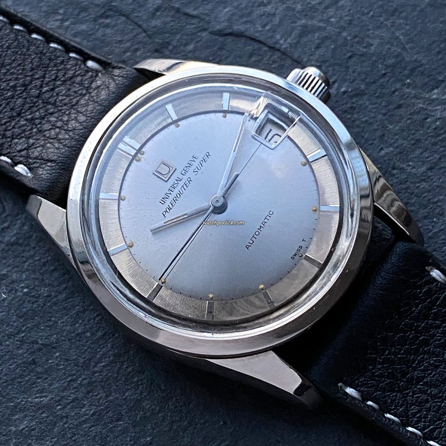 Universal Genève Polerouter Super 869112/03 - a sporty and elegant vintage watch from the 60s