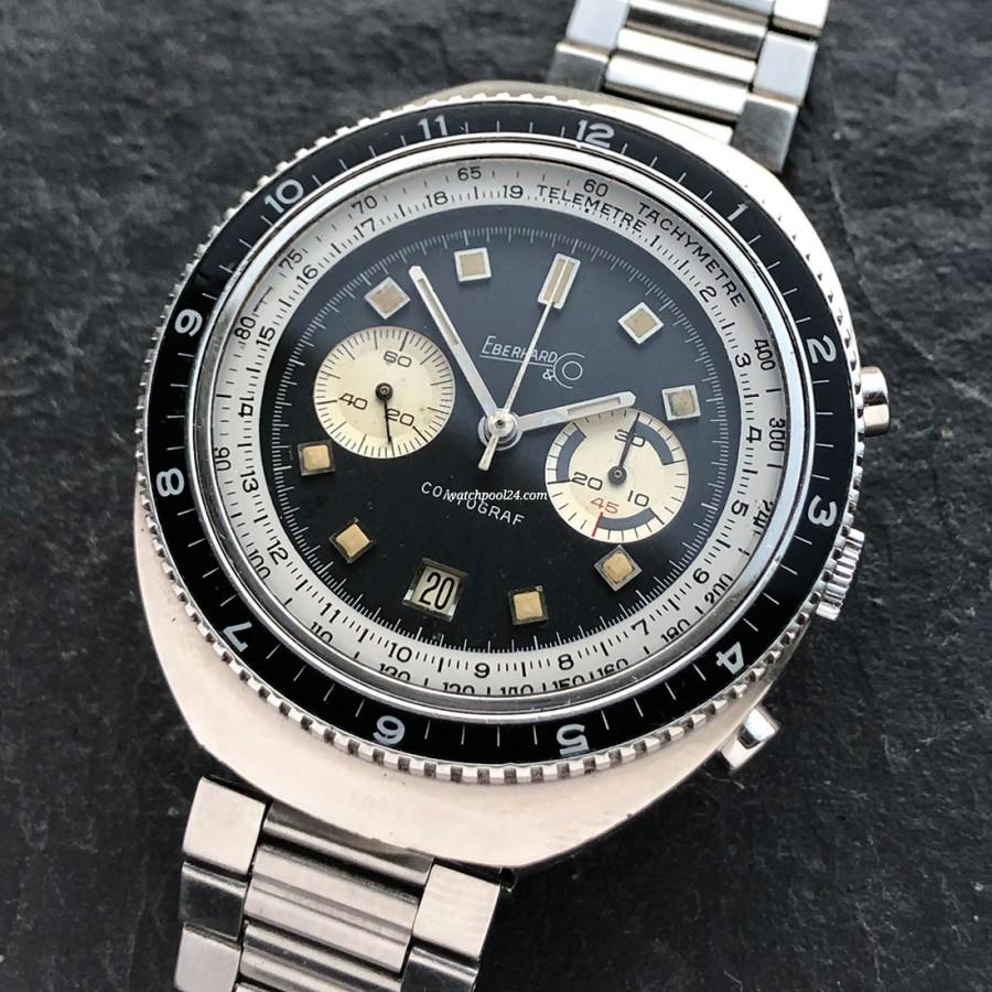 Eberhard Contograf 1.31504-39 - a big striking chrono from 1970