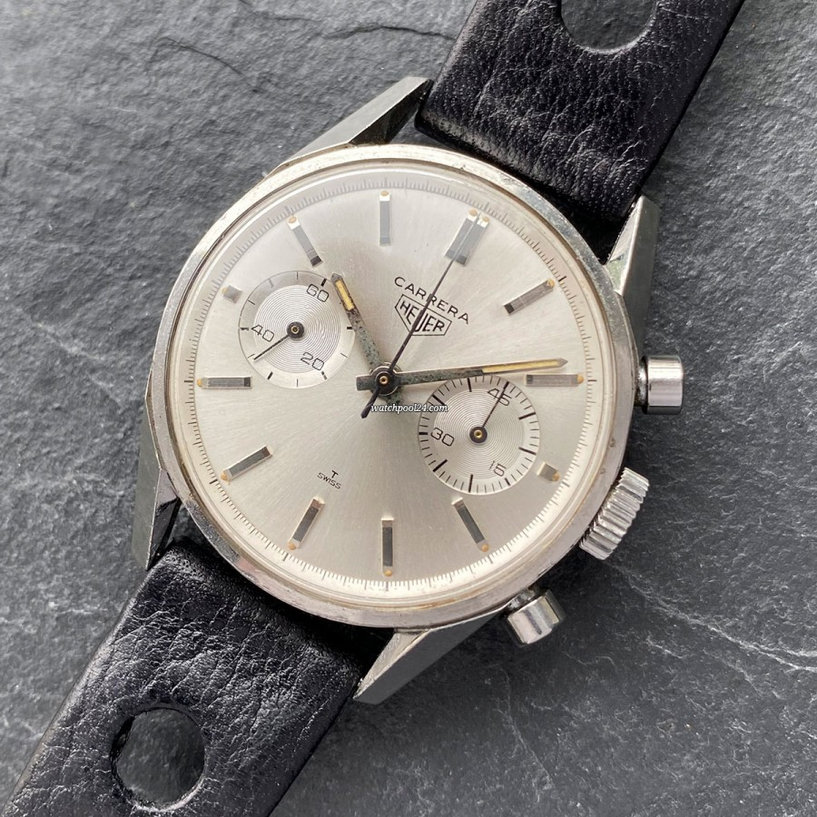Heuer Carrera 3647 - manual wind Carrera from the 60s