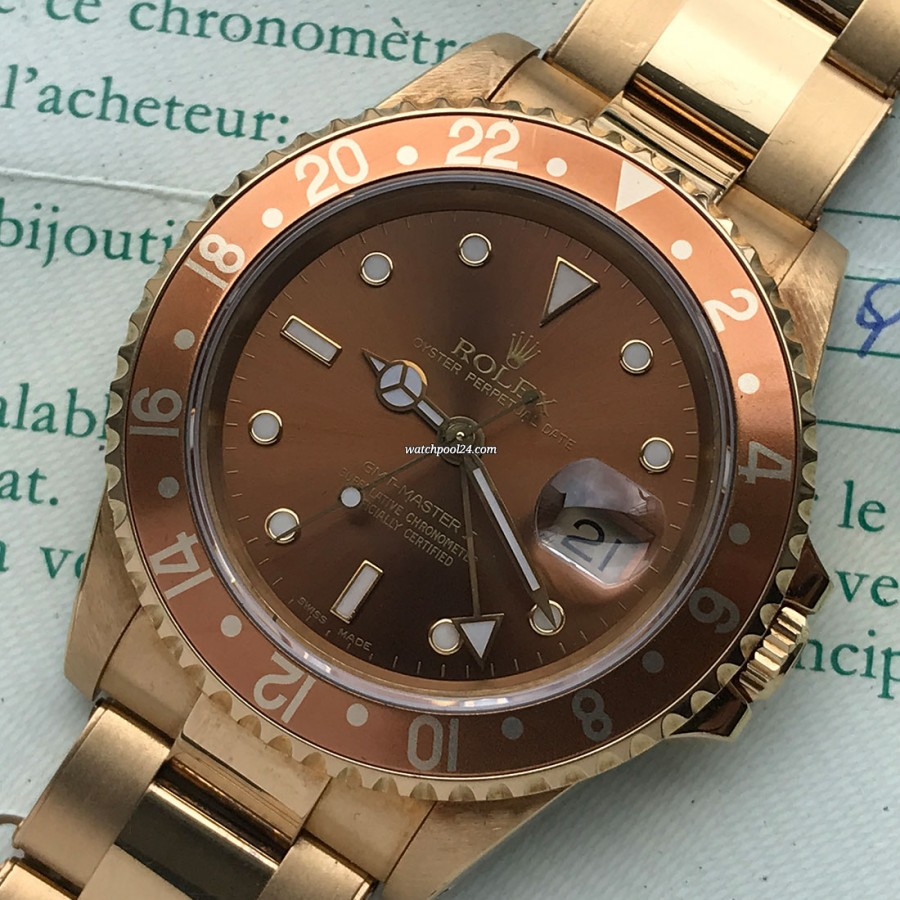 Rolex GMT Master II 16718 Punched Papers - extravagant GMT from 1992