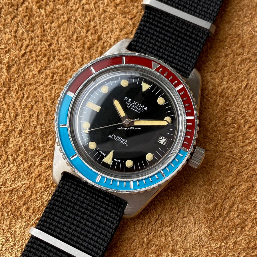Sexima Incablock Diver - striking diver from the 70s