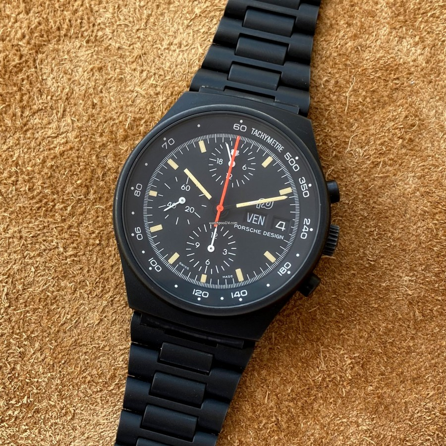 Orfina Porsche Design Chronograph 7176 - a cool racing chrono from the 1970s