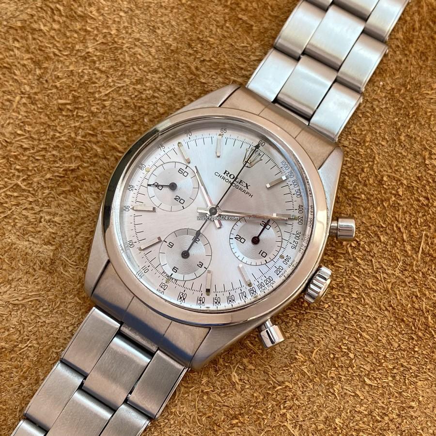 Rolex Cosmograph 6238 Gunmetal Dial - Pre-Daytona - the mother of the Daytona chronograph