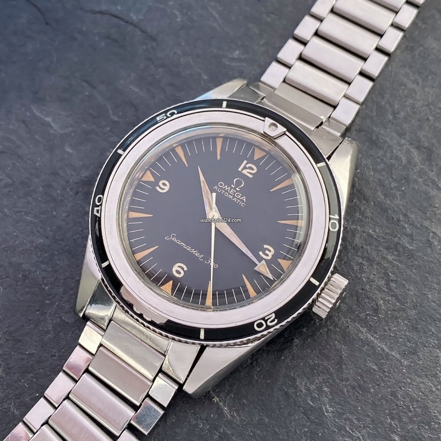 Omega Seamaster 300 14755-61 - rare and important Vintage-Omega from the early 60s