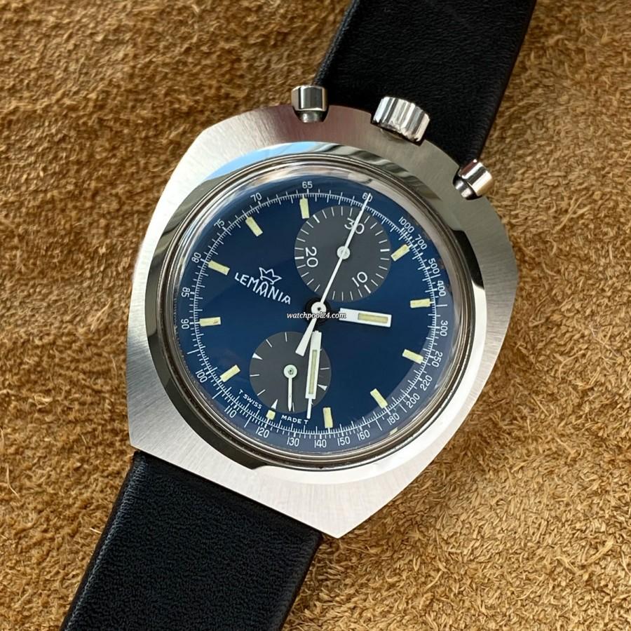 Lemania Bullhead 9601 NOS - seltene Vintage-Uhr mit extravagantem Design im NOS-Zustand