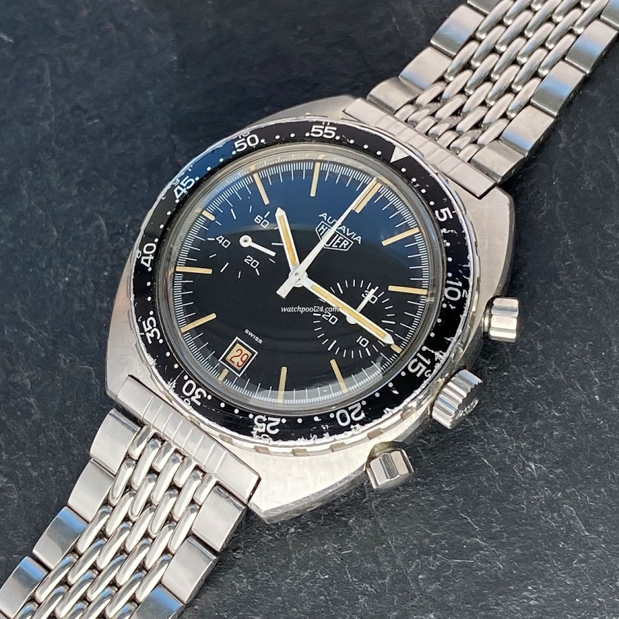 Heuer Autavia 73463 - a 1970s vintage chronograph in original and honest condition
