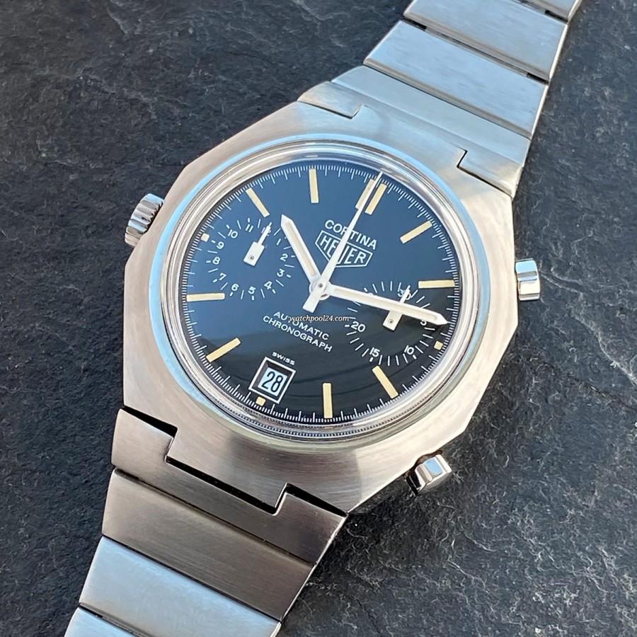 Heuer Cortina 110233 NC Black - ein ausgefallener Chronograph der späten 1970er Jahre