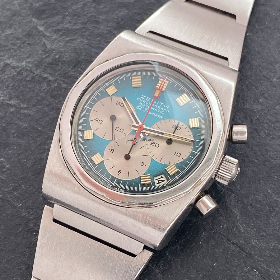 Zenith El Primero A782 Defy - Automatik-Chronograph aus den 70ern