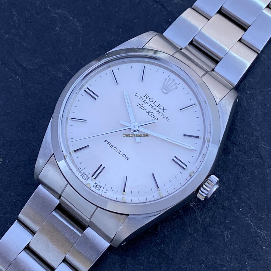 Rolex Air-King 5500 Full Set - an elegant vintage wristwatch