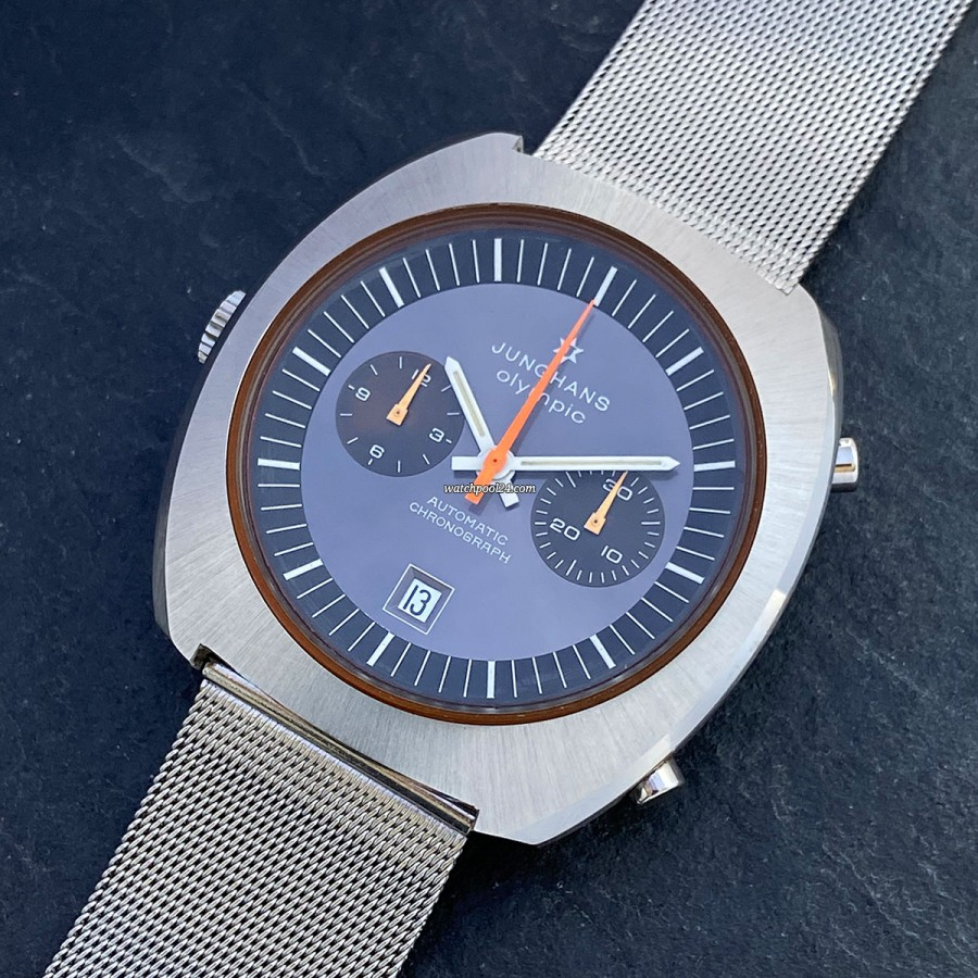 Junghans Olympic Chronograph - 1970s chronograph, presented for the 1972 Olympic Games