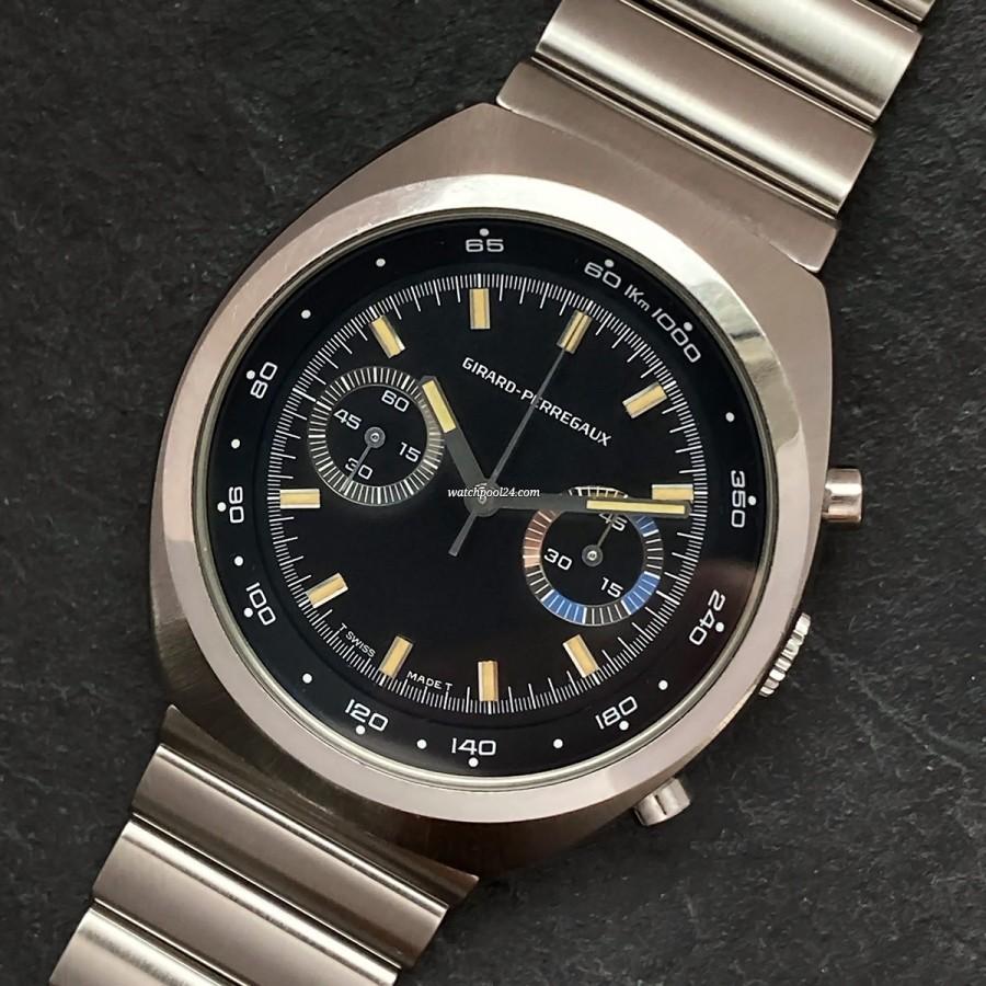 Girard Perregaux Chronograph 4210 - a funky 1970s chronograph
