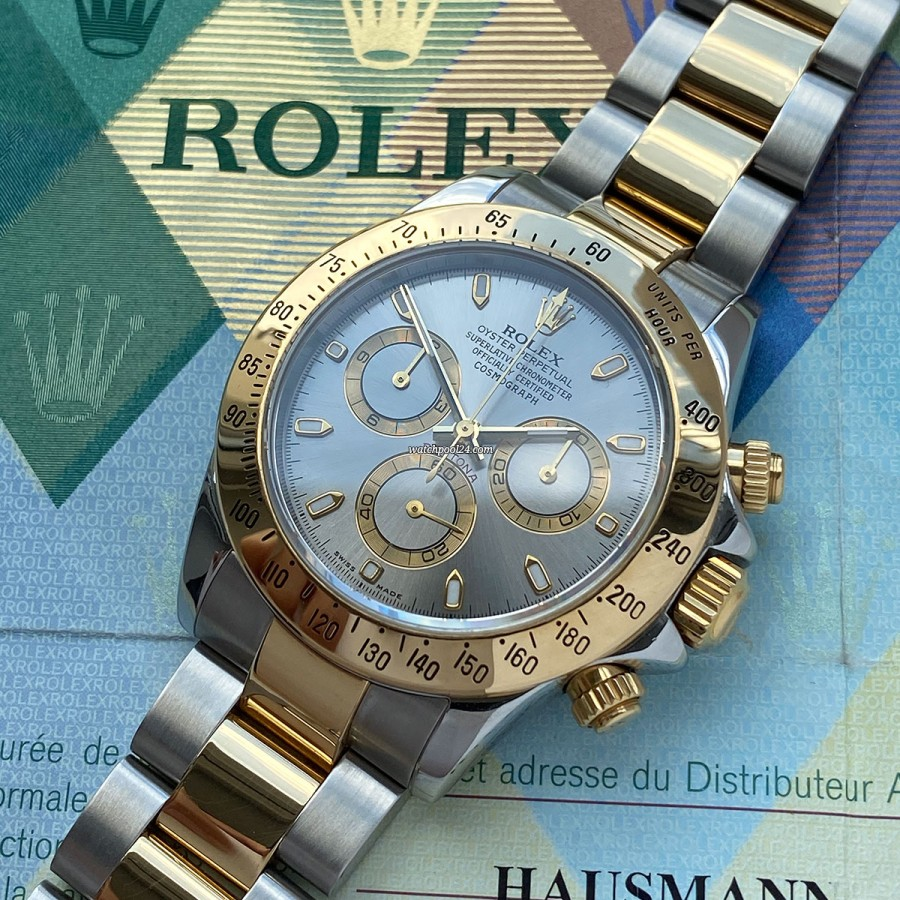 Rolex Daytona 116523 Slate Dial Full Set - ein Chronograph der Superlative