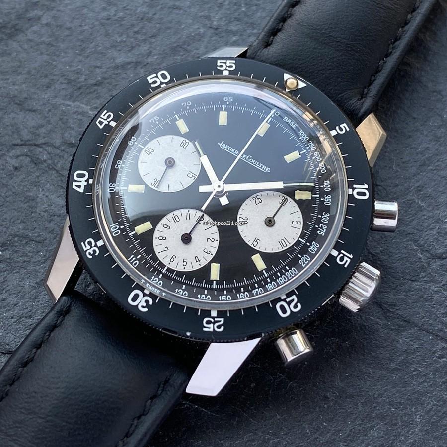 Jaeger-LeCoultre Shark Deep Sea E2643 - striking chronograph from the 1960s