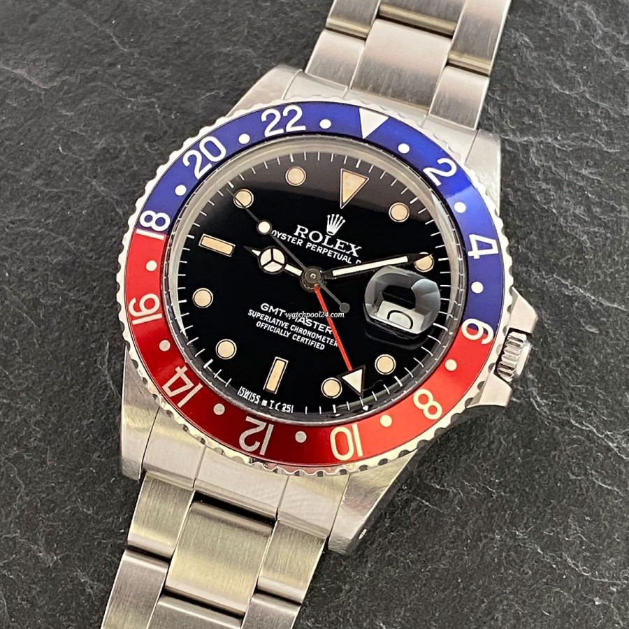 Rolex GMT Master 16750 Full Set - 1986er GMT Master in traumhaftem Full Set