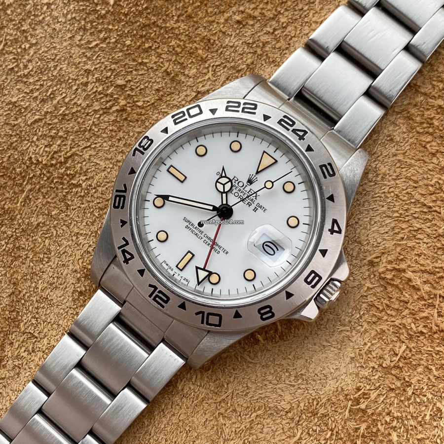 Rolex Explorer II 16550 Box & Papers - a transitional Explorer from 1987