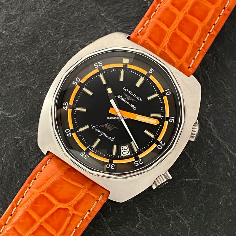 Longines Conquest 8221 Diver - a cool diver's watch from 1969