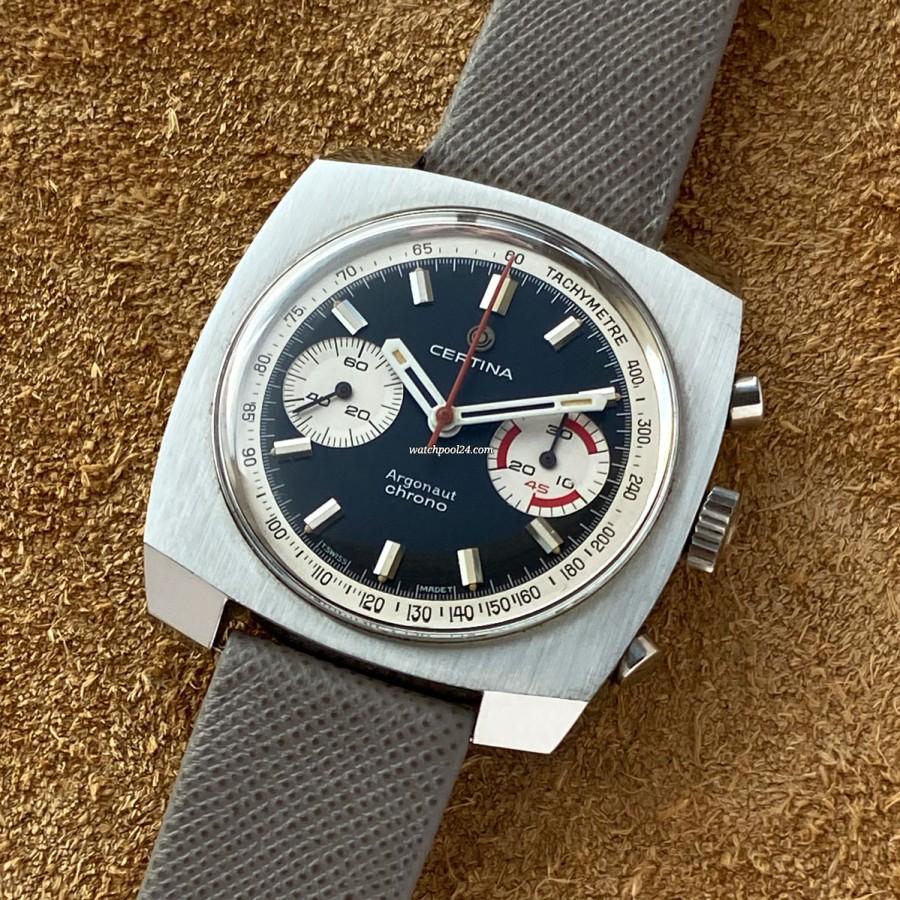 Certina Argonaut 8401-501 NOS - auffälliger Chronograph aus den 1970er Jahren