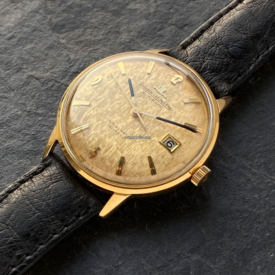 Jaeger-LeCoultre Geomatic E398 Yellow Gold - a fascinating vintage watch from 1966