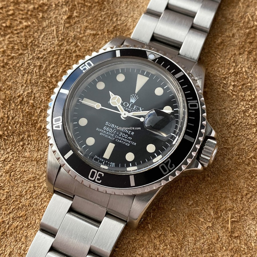 Rolex Submariner 1680 White - rare reference of the legendary Submariner from 1977