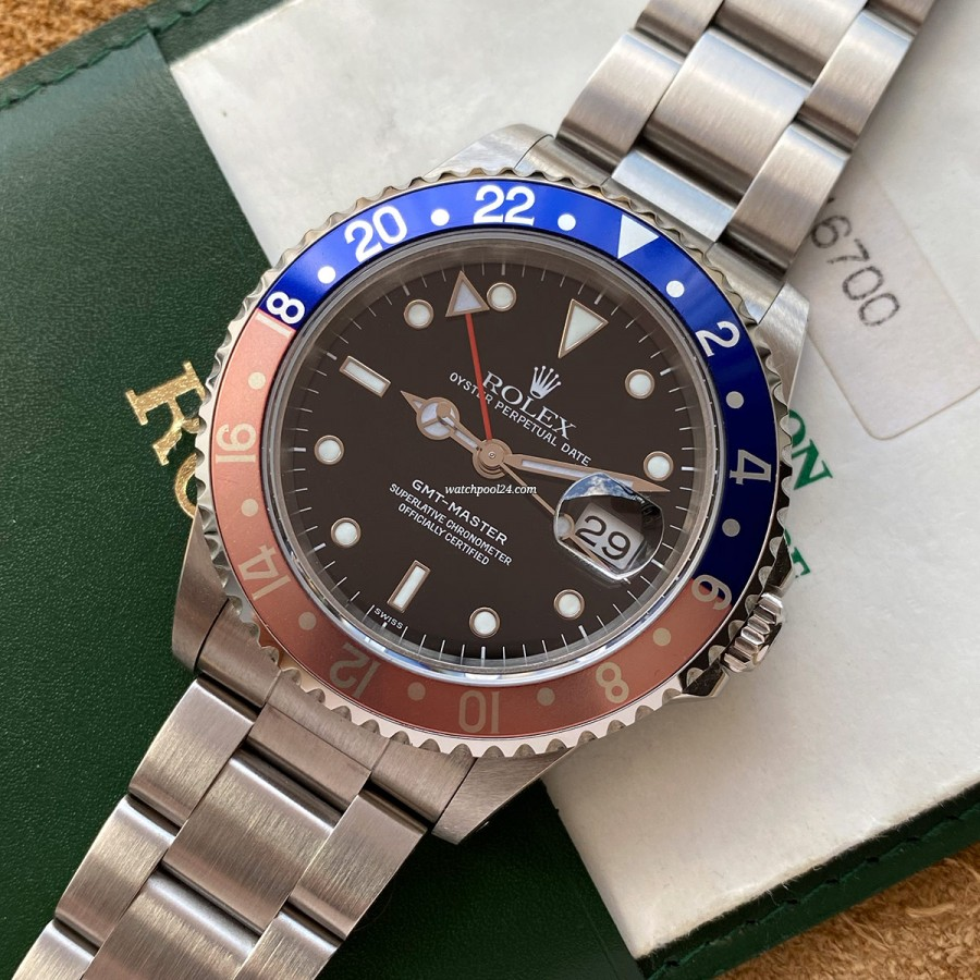 Rolex GMT Master 16700 Swiss Only - beautiful and rare GMT from 1998