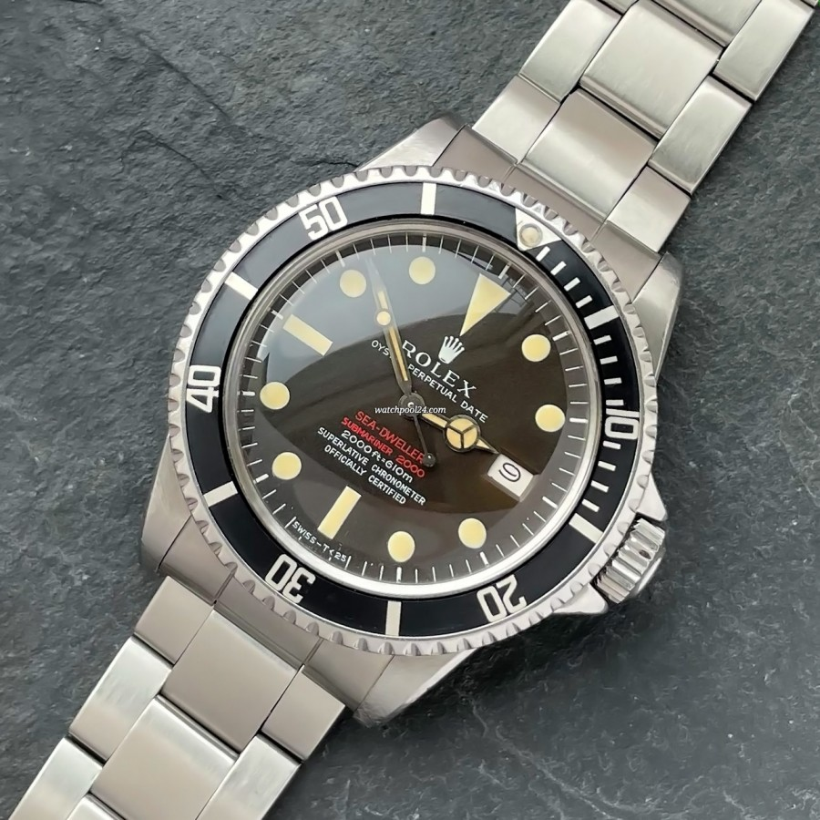 Rolex Sea-Dweller 1665 Double Red MK2 - the diver's icon in its rarest version from 1968