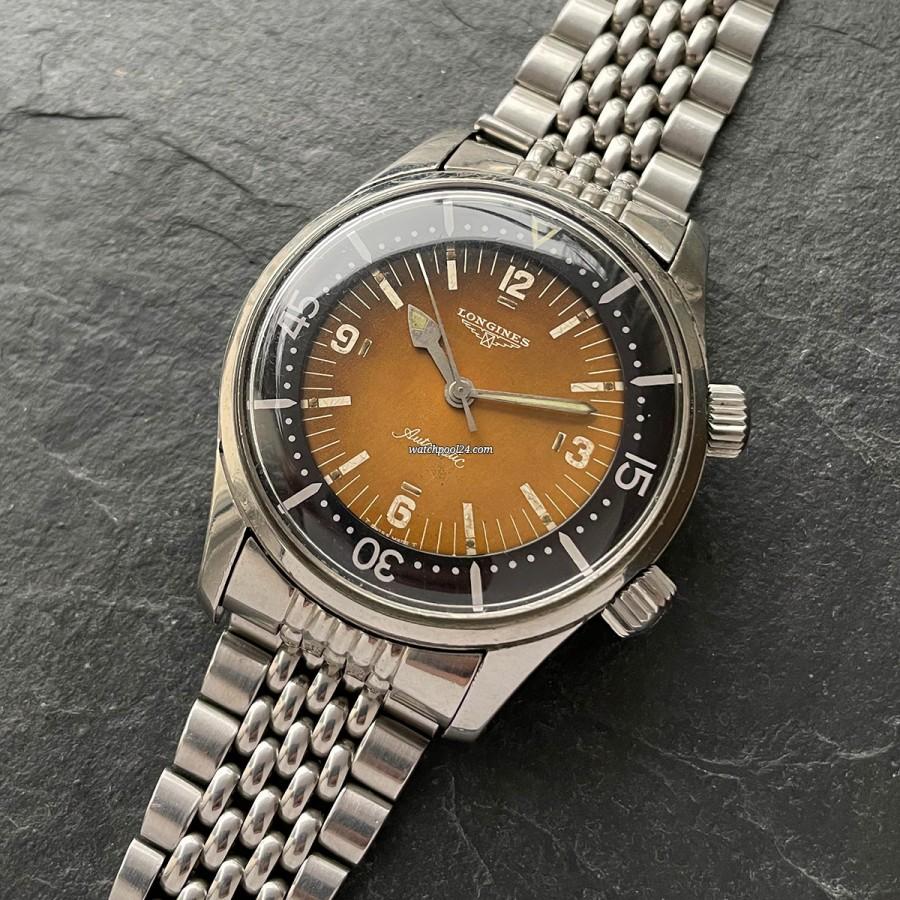 Longines Diver Compressor 7150-2 - legendärer Vintage Diver mit einem einzigartigen Zifferblatt