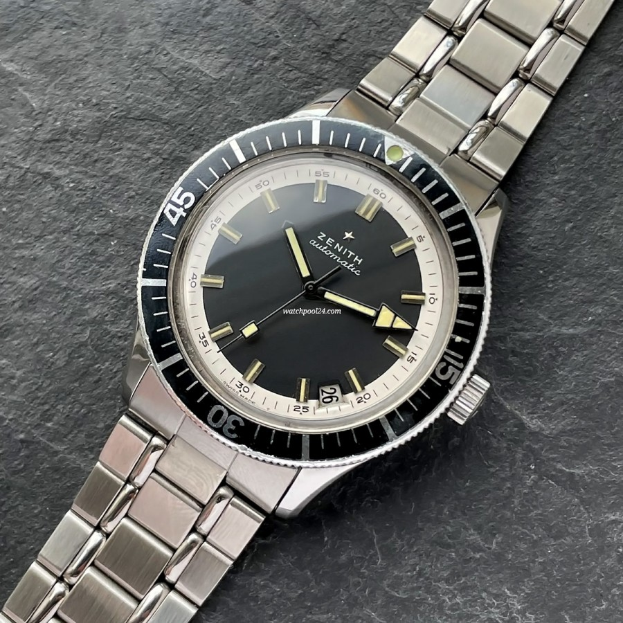 Zenith Diver A3630 - diving watch from the late 60s