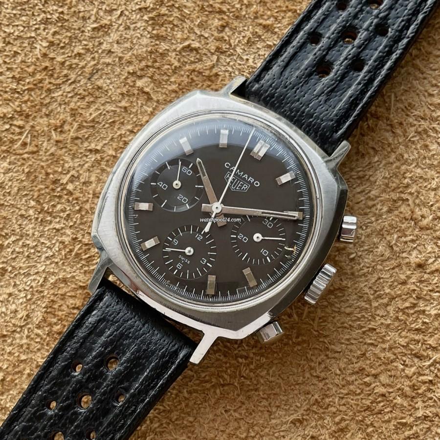 Heuer Camaro 7220N - Valjoux 72 Chronograph von 1969