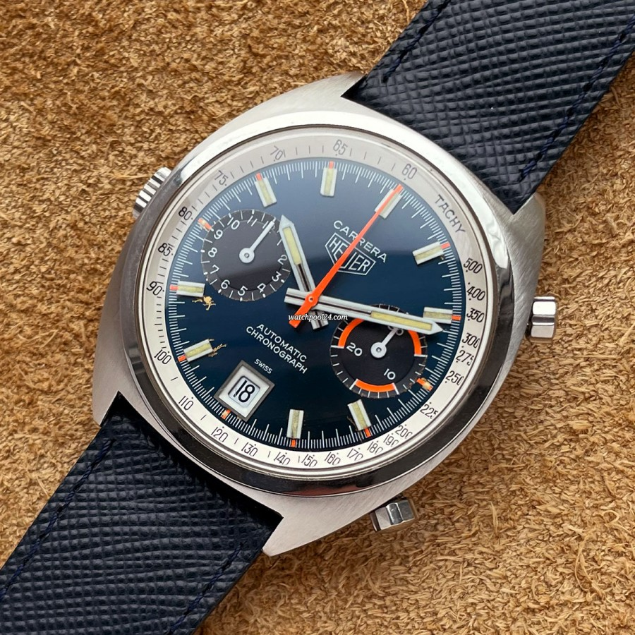 Heuer Carrera 1153 BN - racing chronograph from the 1970s
