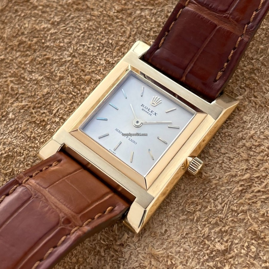 Rolex 9578 Ultra Thin 18k Yellow Gold - elegant vintage dress watch from 1959