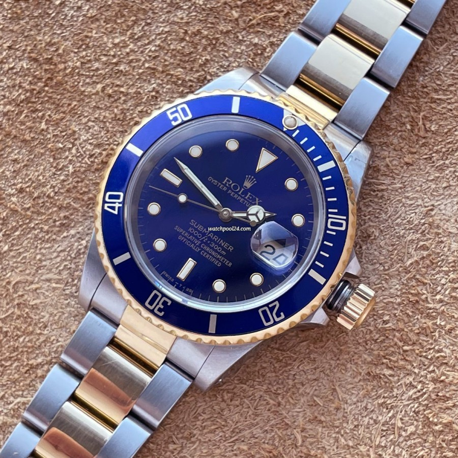 Rolex Submariner 16613 Full Set - charismatische Submariner von 1992