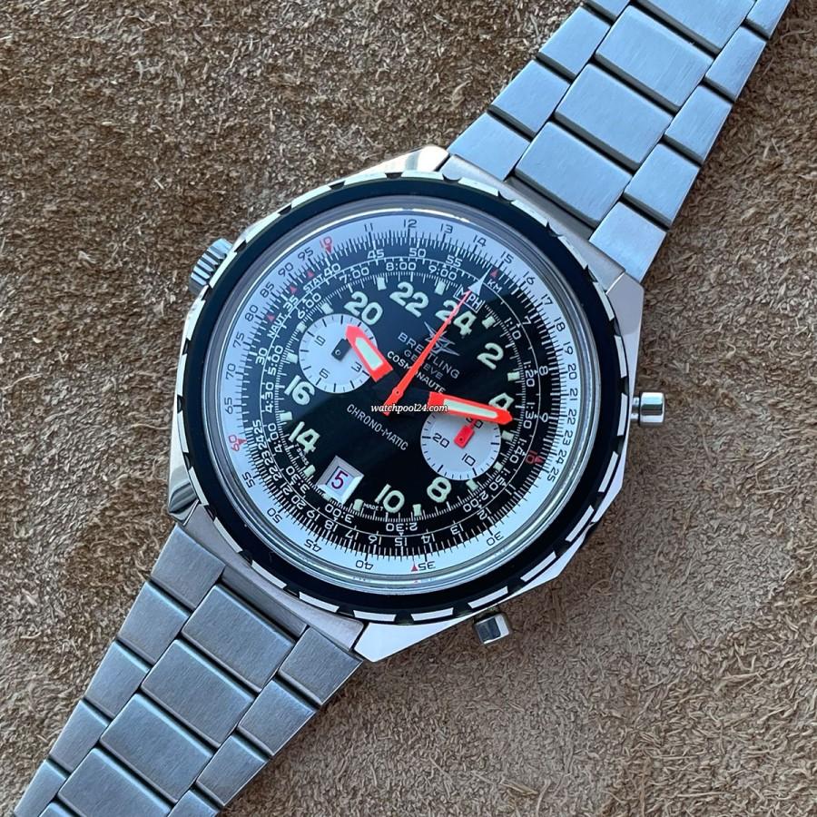Breitling Cosmonaute 1809 NOS - pilot's chronograph from 1969