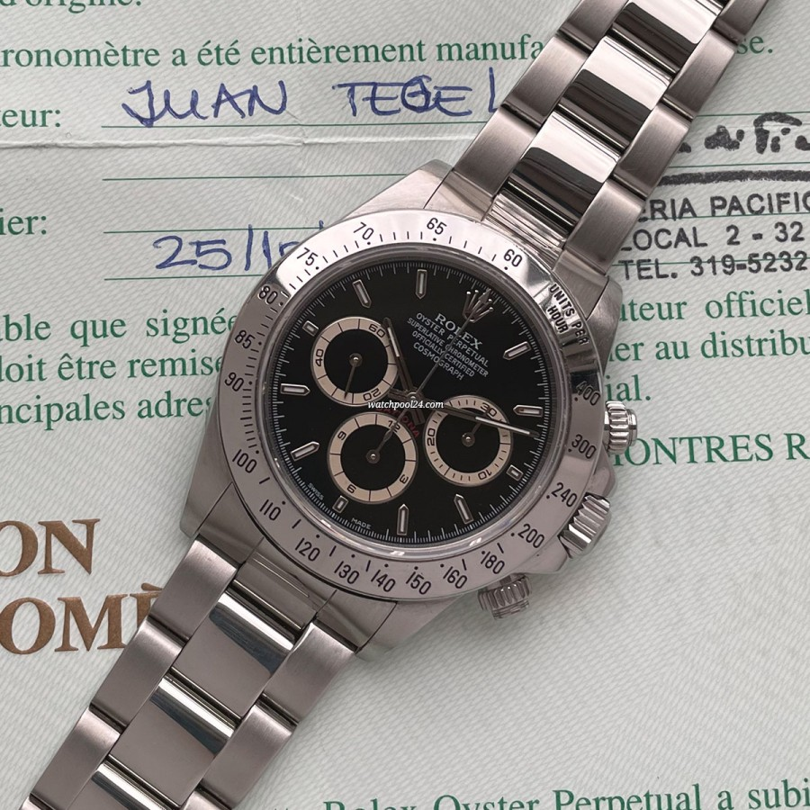 Rolex Daytona 16520 Full Set - Zenith Daytona from 1997