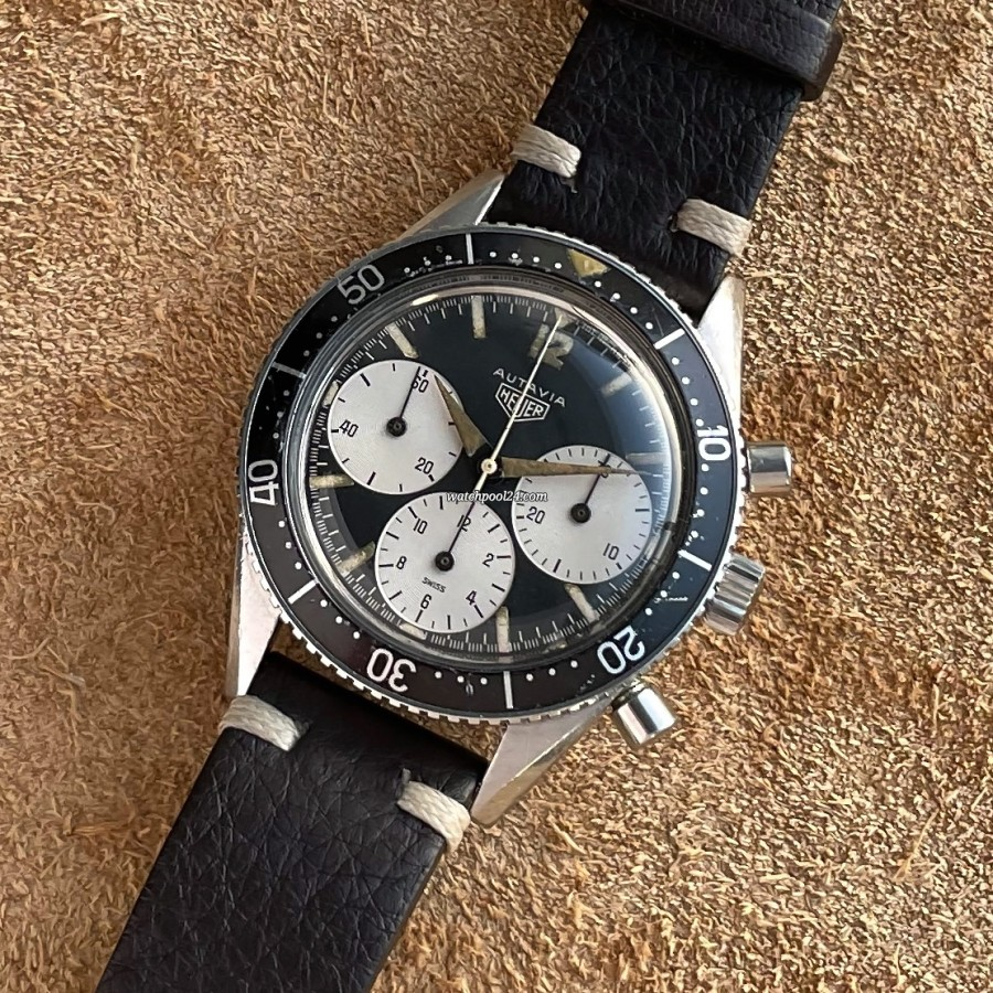 Heuer Autavia 2446 Big Subs Full Lume - the very first execution of the legendary Heuer Autavia