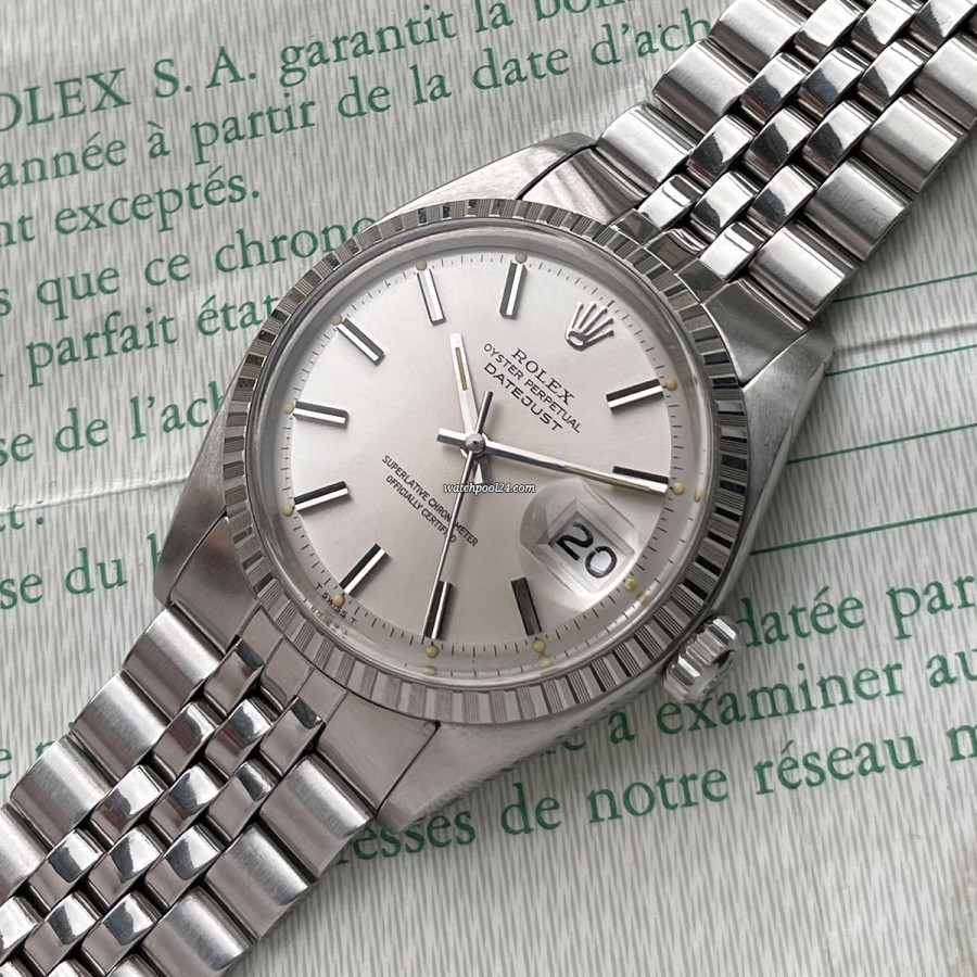 Rolex Datejust 1603 Box & Papers - elegant vintage classic from 1973