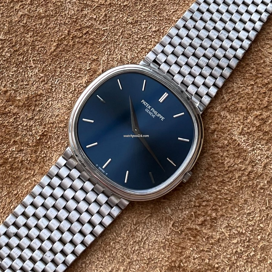 Patek Philippe Ellipse 3739 Jumbo White Gold - breathtaking vintage watch from 1979