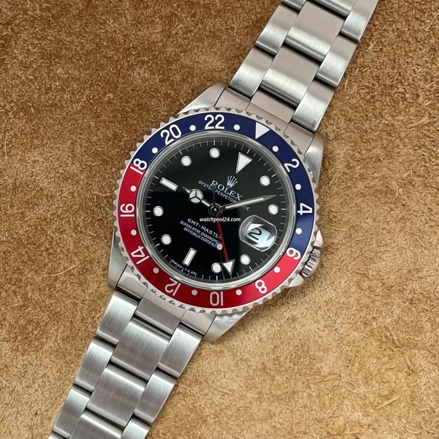 Rolex GMT Master 16700 Full Set Sticker - the legendary GMT Master from 1997