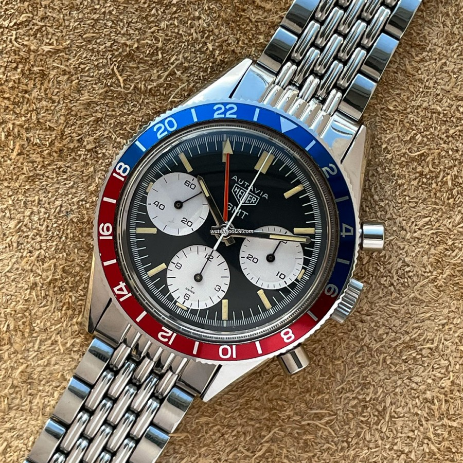 Heuer Autavia 2446 GMT First Execution NOS - the holy grail of Heuer watches in NOS condition