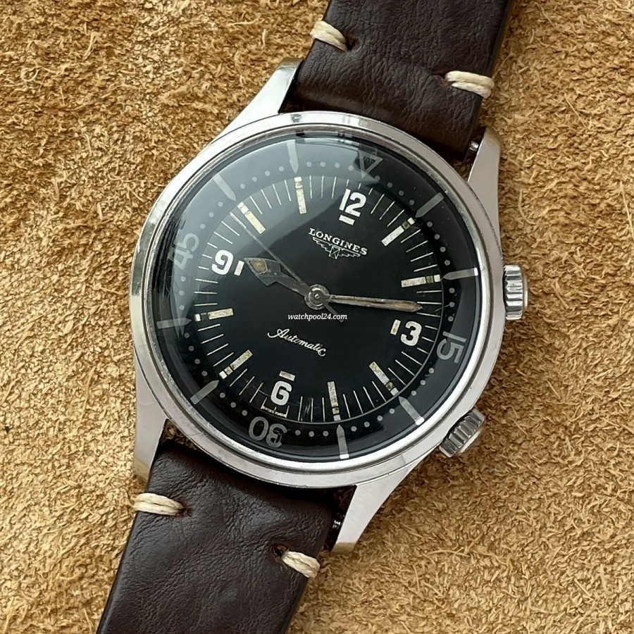 Longines Diver Compressor 7150-1 - legendary diver's watch from 1961