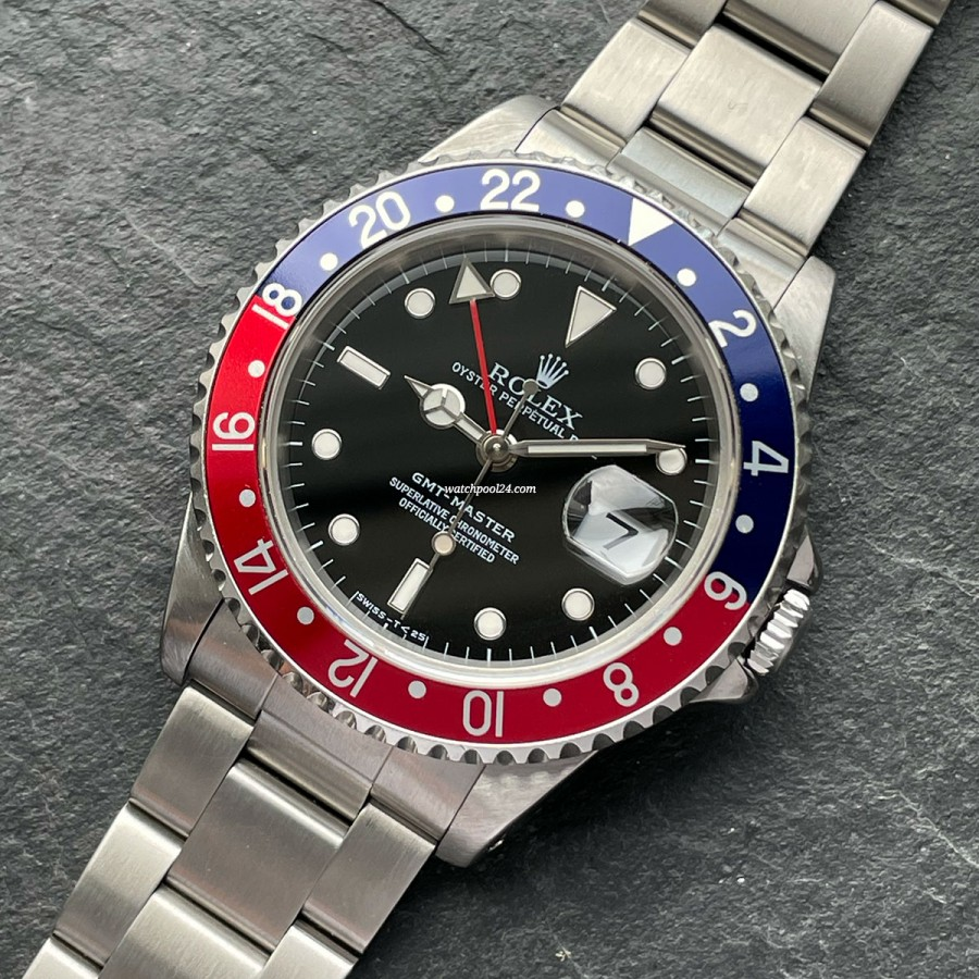 Rolex GMT Master 16700 Full Set Sticker - die legendäre GMT Master von 1997