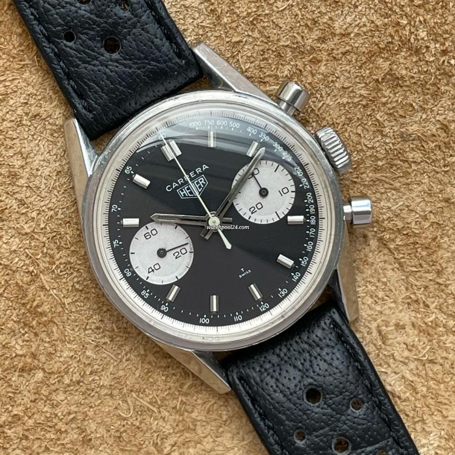 Heuer Carrera 7753 - classic chronograph from 1970