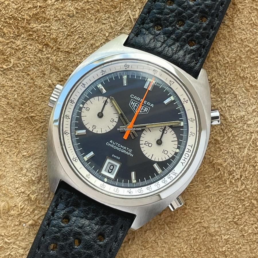 Heuer Carrera 1153 N Mick Jagger - klassischer Racing-Chronograph der 1970er Jahre