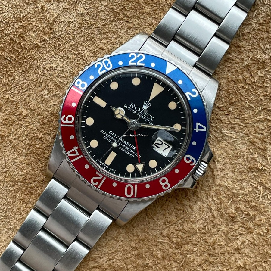 Rolex GMT Master 1675 Pepsi - the legendary travel watch from 1978